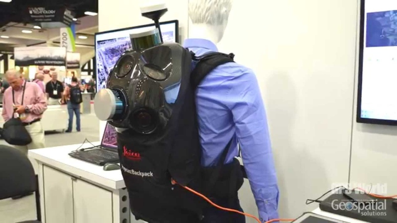 Esri UC Leica Geosystems Features Mobile Mapping Backpack