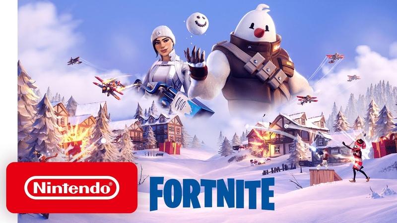 Fortnite Operation Snowdown - Launch Trailer - Nintendo Switch