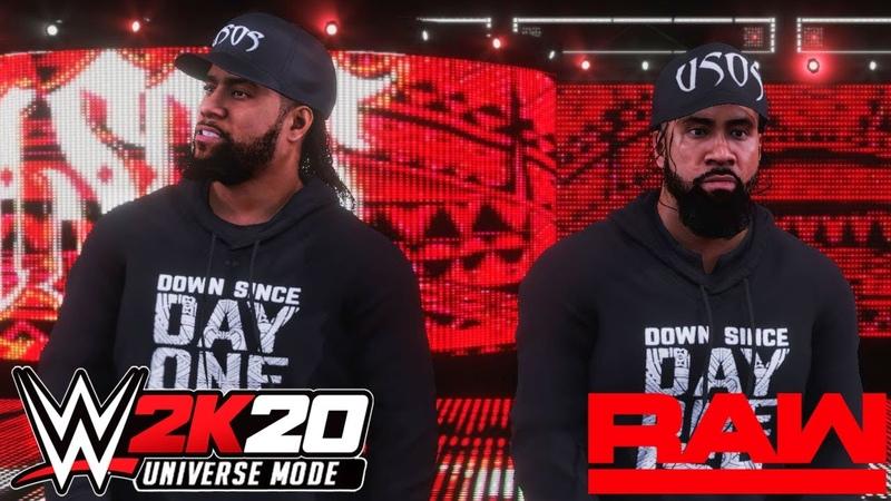 WWE 2K20 Universe Monday Night RAW На Русском 12