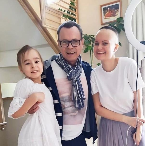 Дочь экс-солиста группы «На-На», Владимира Левкина, вылечилась от рака мозга