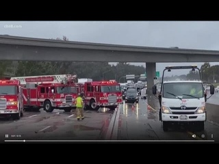 Heavy rain hits San Diego County causing flooding, accidents