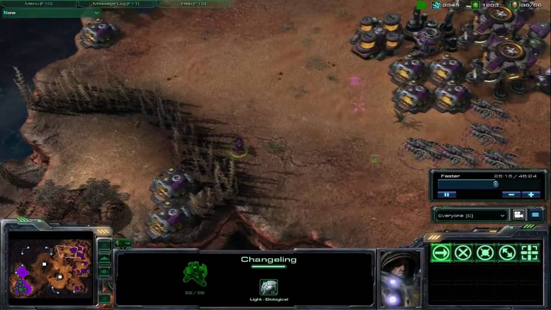 Starcraft II Wings of Liberty Zerg Units