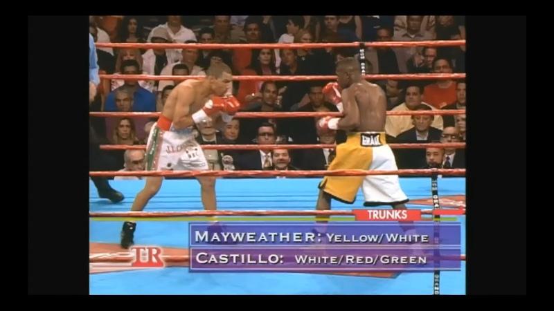 Флойд Мэйвезер мл. vs Хосе Луис Кастильо 1 Floyd Mayweather Jr vs Jose Luis Castillo 1