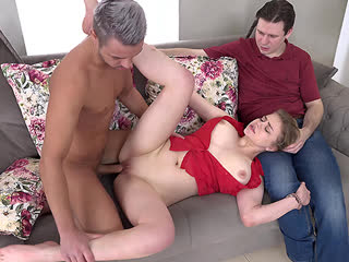 Bella Breeze - Blonde fucked with bf watching - All Sex Cuckold Teen Babe Big Natural Tits Juicy Ass Chubby Boobs Booty, Porn