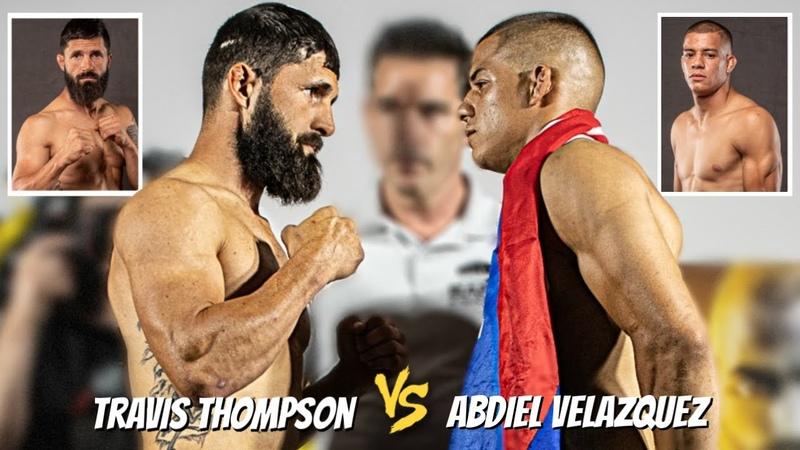 Bare Knuckle Full Fight BKFC 6 Thompson vs Velazquez