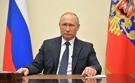 Владимир Путин вновь обратился к нации