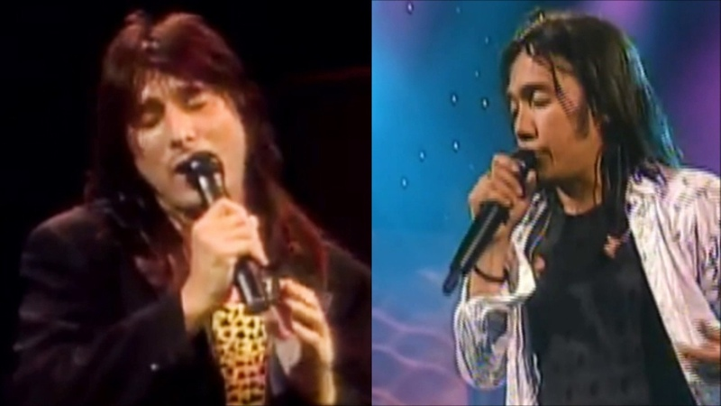 Journey Open Arms LIve! Arnel and Steve duet