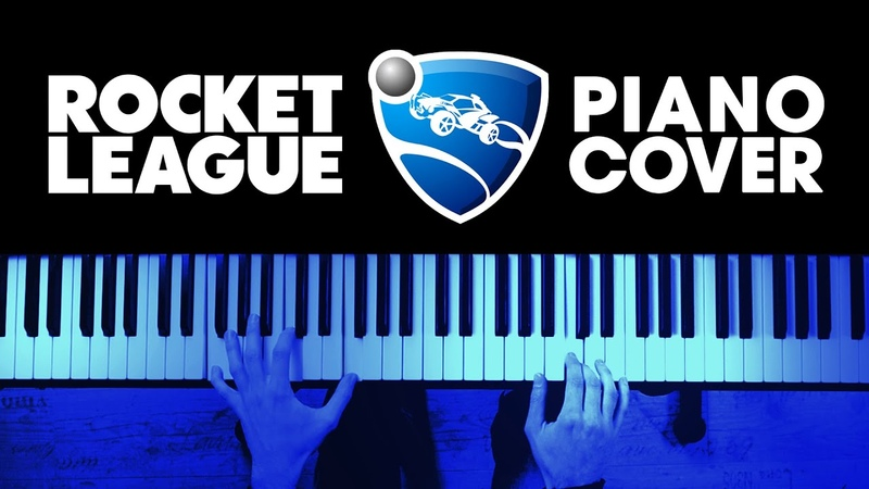 13 Songs from the ROCKET LEAGUE Soundtrack | Piano Cover | Hans Lilljekvist