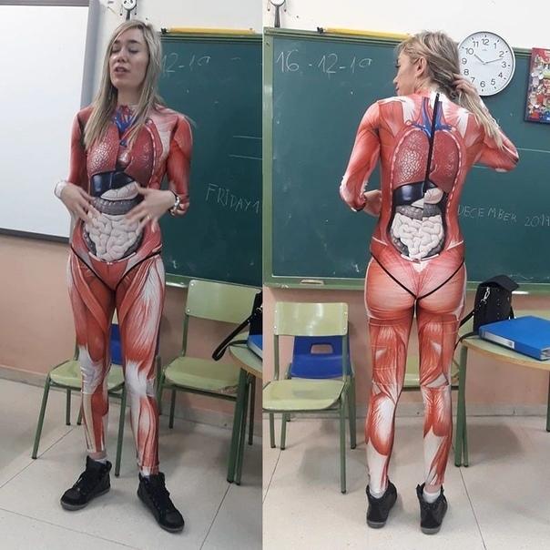 Костюм для изучения анатомии -