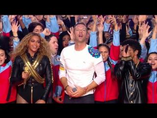 Coldplay & Beyonc, Bruno Mars, Mark Ronson - Medley (Live @ Pepsi Super Bowl 50 Halftime Show 2016)