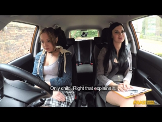 Fake Driving School Crystal Coxxx Jasmine Jae Spoiled Teen Has Her Drivers Test New Porn 2017