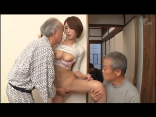 Kimijima Mio [PornMir, Японское порно, new Japan Porno Old Man, Big Tits, Married Woman, Incest, Drama]