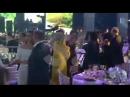 Наталья Тимакова танцует лезгинку на свадьбе дочери олигарха Чигиринского