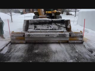 Как в Канаде чистят дороги