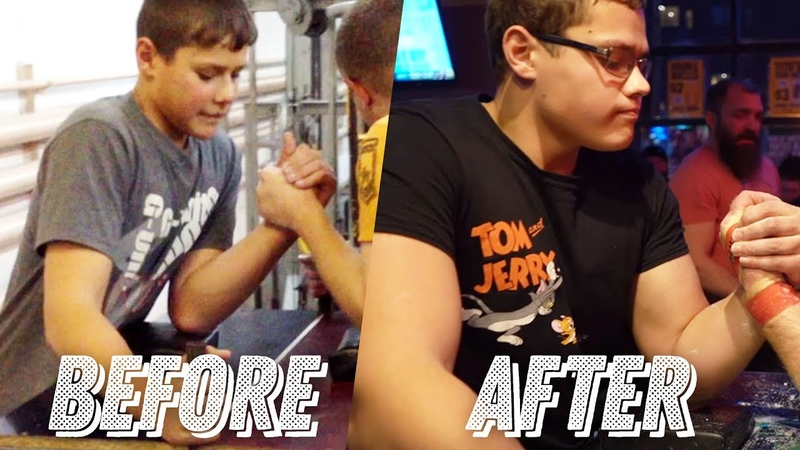 The story of the SCHOOLBOY armwrestler Who is this guy