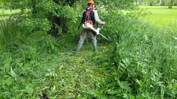 Покос травы. +79814573000