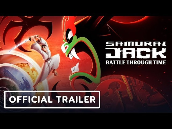 Samurai Jack Battle Through Time Official Announcement Trailer