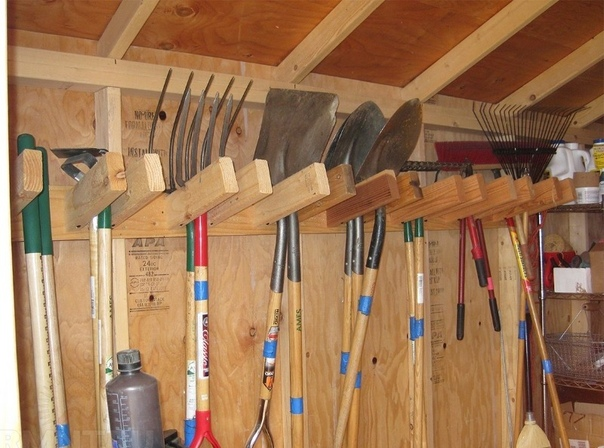 Зимнее хранение инструментов.