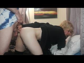 Самая секасная сисси подставляет попу своему мальчику (sissy femboy ladyboy shemale t-girl trans )
