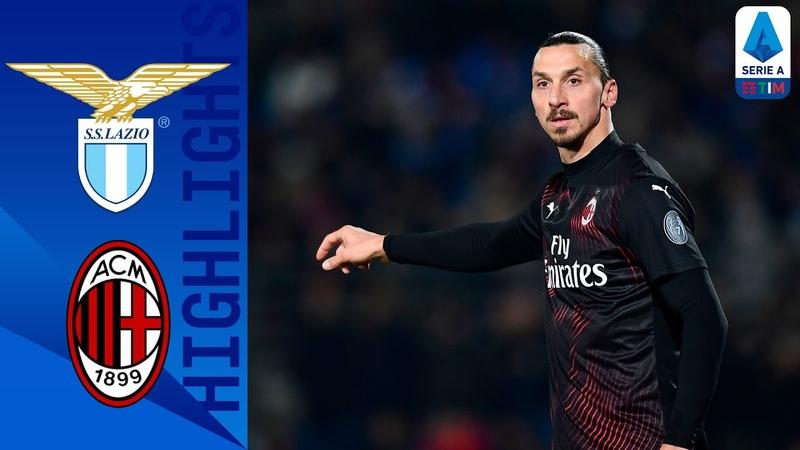 Lazio 0 3 Milan Milan crushes Lazio s title hopes Serie A TIM