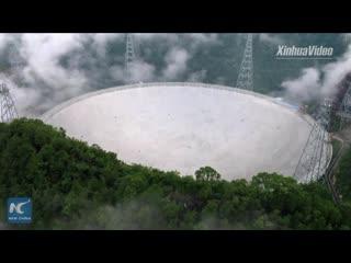 Самый крупный радиотелескоп в мире