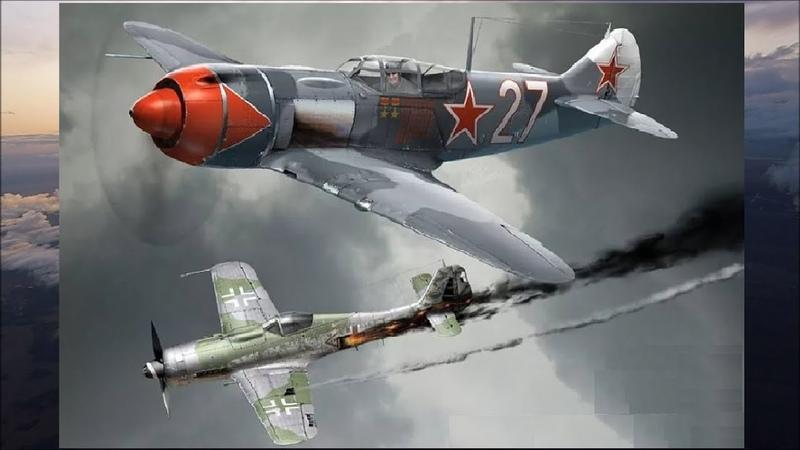 Разоблачение грязного мифа о Советских лётчиках в годы войны