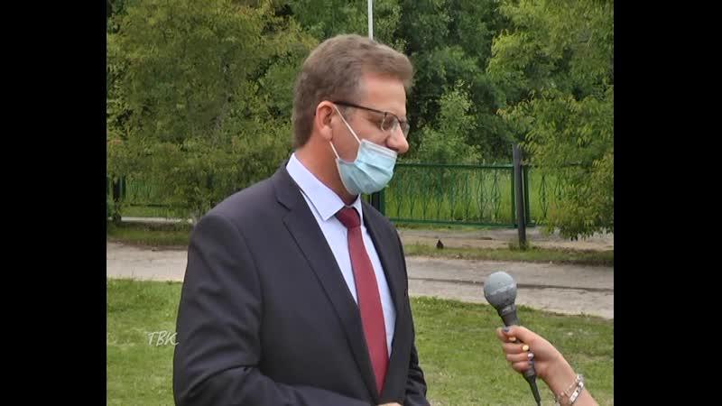 Интервью с Андреем Медных о реализации регионального проекта в Колпашевском районе Спорт - норма жизни