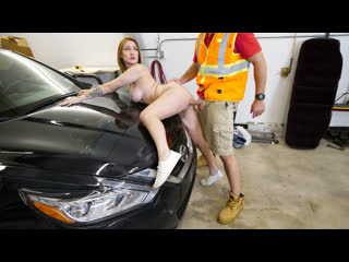 [Bang] Aria Kai - Gets Her Car Fixed And Her Pussy Stuffed With Dick NewPorn2019