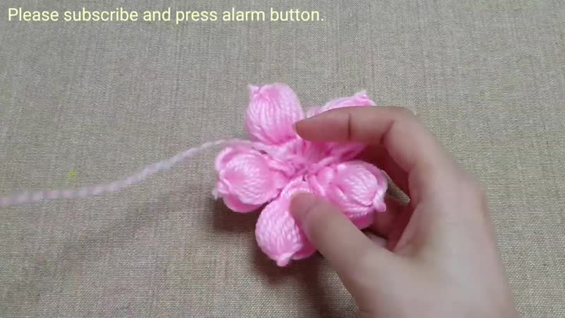Awesome Flower Craft Ideas with Woolen Hand Embroidery Trick Sewing Hack Easy Wool Flower