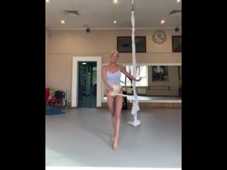 Анастасия Волочкова станцевала после репетиции