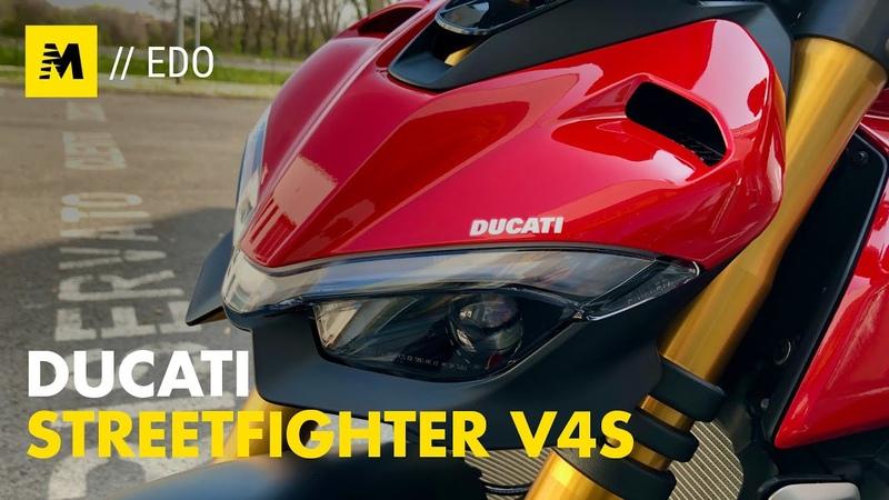 Ducati Streetfighter V4S primo contatto engine sound
