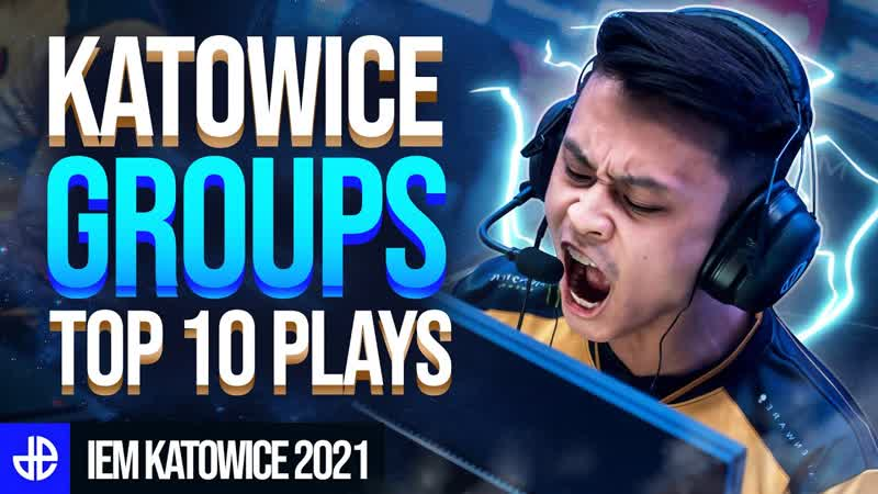Top 10 Moments From IEM Katowice Groups Stewie Degster DOMINATE!