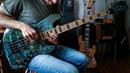DMITRIY TOPOROV - Dance of Time (Bass Solo)MAYONES JABBA CUSTOM 4 EP T-AQM-G