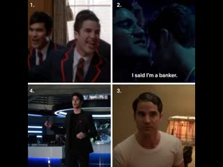VIDEO darren criss can really do it all - - 1. Glee S2 Ep 5 - 2. The Assassination of Gian