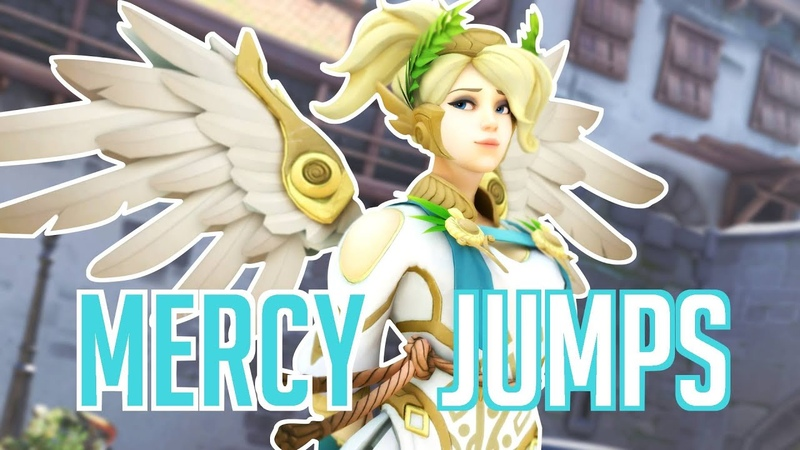 ALL MERCY JUMPS Superjump Superjump Rez Backward Guardian Angel ON CONSOLE tutorial