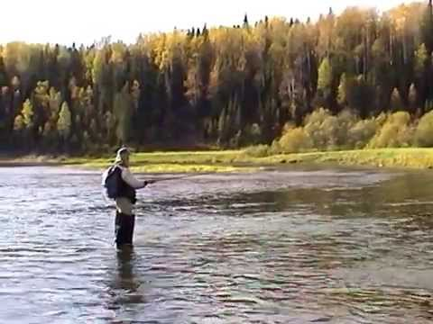 Река Березовая Пермский край 2000г