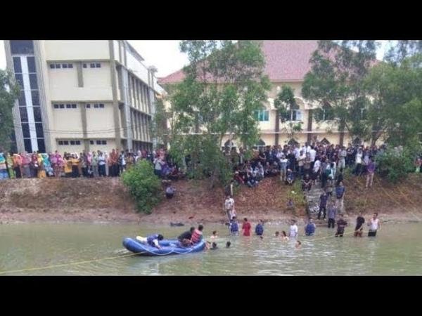 Dua Mahasiswa UIN Raden Intan Dikabarkan Tewas Tenggelam di Embung Kampus