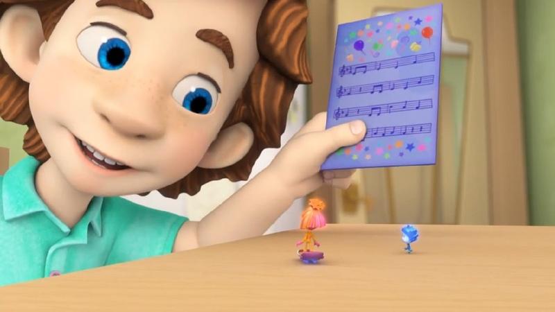 Фиксики - Ноты   Познавательные мультики для детей