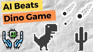 AI masters the Chrome Dino Game | Reinforcement Learning Tutorial