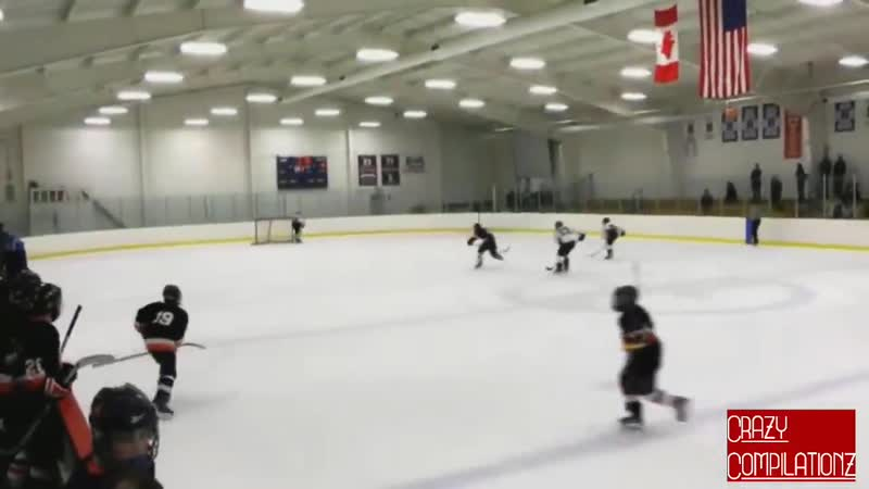 Goalies Hitting Players