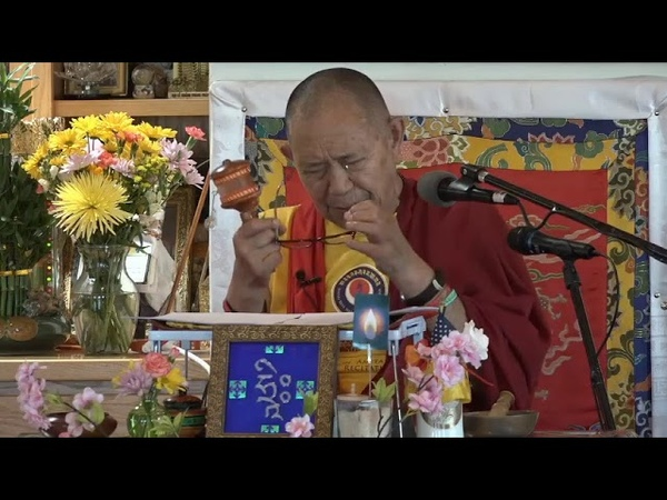 EIGHT MAHAYANA PRECEPETS and COMMENTARY with H.E. Garchen Rinpoche 5/24/2020 part 2