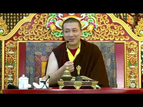 Поучения по молитве устремлений Его Святейшество 17й Гьялва Кармапа Тхае Дордже
