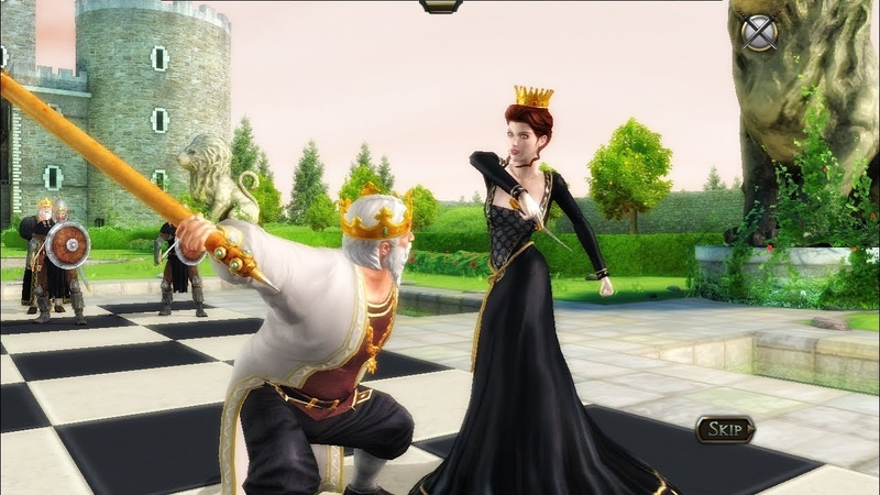 Battle chess Battle of Queen and King