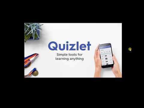 Quizlet- как пользоваться сайтом для изучения английского.