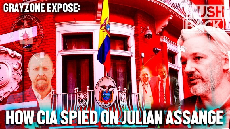 Exposed CIA used Sheldon Adelson's firm to spy on Julian Assange