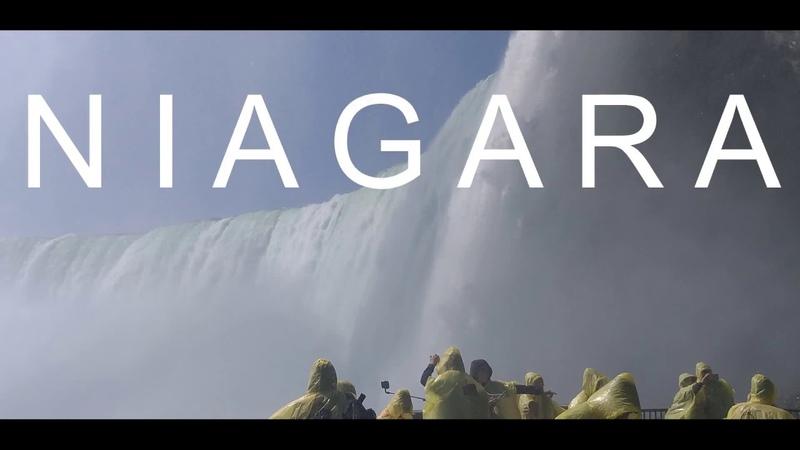 Niagara Falls Ниагарский водопад