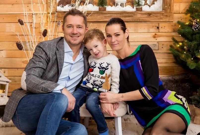 С мужем Отто и сыном Болтижаром