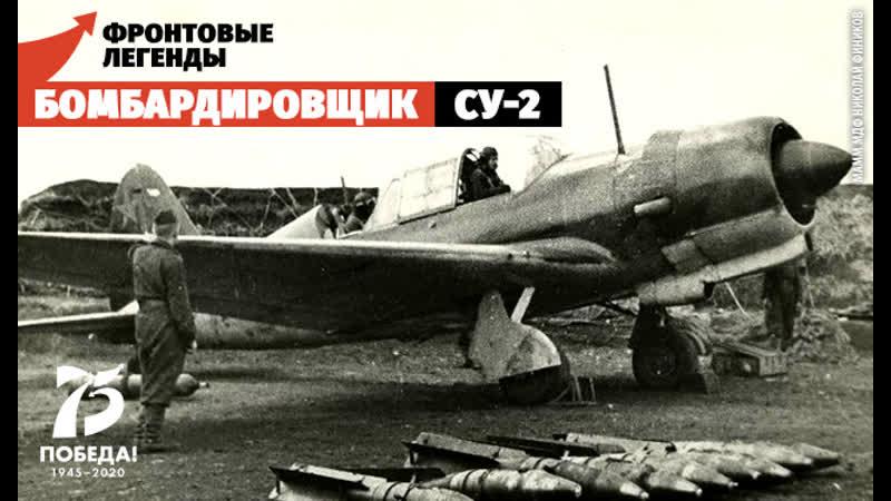 Бомбардировщик Су-2 предок ПАК ФА