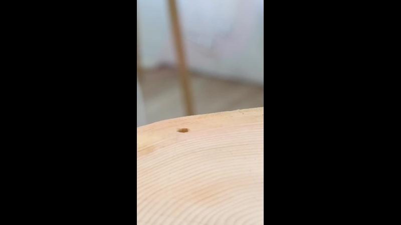 Супер-классная подвешенная полочка из дерева