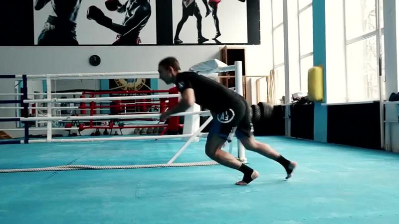 5 лучших упражнений со своим весом _ Тренируем выносливость бойца